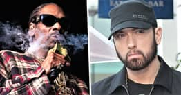 Snoop Dogg Says Eminem Isn't Even Top 10 Of All-Time Best Rappers