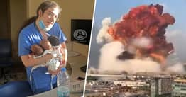 Hero Nurse Saves Three Newborn Babies As Beirut Blast Rocks Hospital