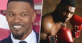 Jamie Foxx Jokes His Mike Tyson Transformation Can Fool The Boxer's Kids