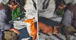 Foxes In Ghost Of Tsushima Have Been Petted Almost 10 Million Times