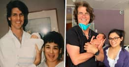 Doctor Delivered Baby 25 Years After Delivering His Mum In Same Texas Hospital