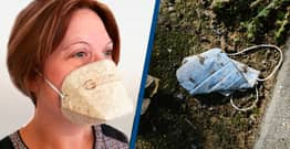 French Firm Develops First Compostable Face Mask