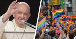 Pope Francis Tells Parents 'God Loves LGBTQ Kids The Way They Are'