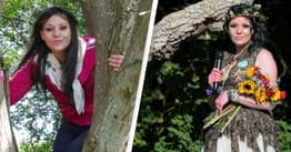 Woman Who Married A Tree Celebrates First Wedding Anniversary
