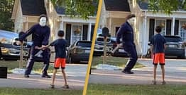 Michael Myers Seen Having Dance-Off With Child In Full Costume