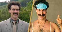 Sacha Baron Cohen Spent Five Days In Character With Two Conspiracy Theorists For Borat 2