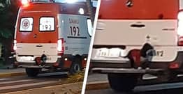 Loyal Dog Jumps On Ambulance To Follow Owner To The Hospital
