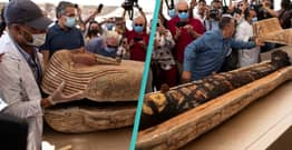 Egypt Opens 59 Ancient Coffins For First Time In 2,500 Years