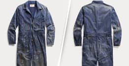 Ralph Lauren Is Selling £620 Overalls With Paint Already On Them