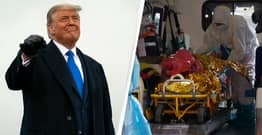 White House Claims Trump Has Ended COVID-19 As US Cases Hit All-Time High