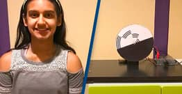 Girl, 12, Wins $25,000 Prize For Life-Changing Optical Illusion Machine