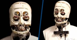 Disney Develops A Skinless Robot That Mimics Staring, Blinking And Breathing