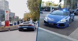 Italian Police Delivered A Donor Kidney 300 Miles Away in Two Hours Driving A Lamborghini