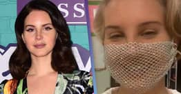 Lana Del Rey Responds To Being 'Cancelled' Over Mesh Face Mask