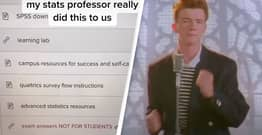 Maths Professor Tricks Students Into Thinking Exam Answers Were Leaked