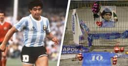 Naples Mayor Calls For San Paolo Stadium To Be Renamed In Honour Of Diego Maradona