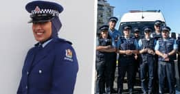 New Zealand Police Officer Becomes First To Wear Hijab As Part Of Official Uniform