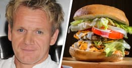 Gordon Ramsay Is Selling A $100 Burger In His New London Restaurant