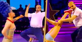 Strictly Come Dancing Did The Weirdest Simpsons Dance Last Night