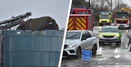 Four People Confirmed Dead After 'Large Explosion' At Bristol Warehouse