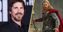 Christian Bale Is Playing The Villain In Thor 4