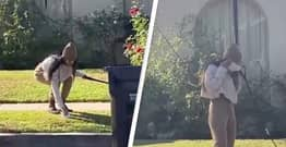 Mia Khalifa Filmed 'Using Face Mask To Pick Up Dog Poo, Then Putting It On Her Face'