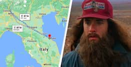 Man Walks 450km To Cool Off After Arguing With Wife