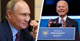 Vladimir Putin Finally Congratulates Biden On US Election Win