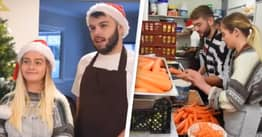 Three Friends Fed 2,000 People Christmas Dinner Across The UK Yesterday