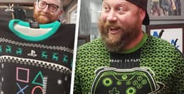 Gamers Buy Each Other Christmas Jumpers For Consoles They Hate