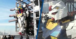 Japanese Theme Park Unveils New Life-Sized Gundam