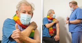 Sir Ian McKellen Praises NHS After Receiving Covid Vaccine