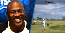 Michael Jordan's New Golf Course Uses Drone To Deliver Beer To Players
