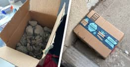 Woman Leaves Package Of Poo On Porch To See If It'll Get Stolen