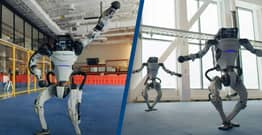 Boston Dynamics Robots Tear Up The Dance Floor In Mesmerising Video