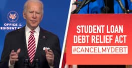 Biden Says He's 'Unlikely' To Issue Executive Order Cancelling Student Loan Debt