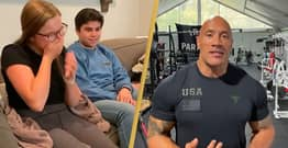 The Rock Surprises Superfan Whose Dad Died With Special Birthday Video