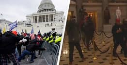 Pro-Trump Protesters Storm Capitol Building In Washington