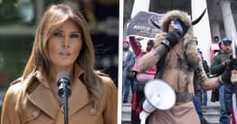 Melania Trump Says She Is 'Disappointed' By Violence At US Capitol In First Statement