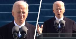 Joe Biden Says 'Democracy Has Prevailed' In First Speech As President