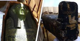 Archaeologists Discover 54 Coffins In Ancient Egyptian Tomb
