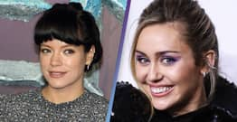 Lily Allen Says She Nearly Took Heroin While Supporting Miley Cyrus On Tour