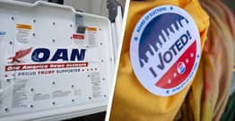 Pro-Trump One America News Deletes Articles Lying About Voting Machine Manufacturer