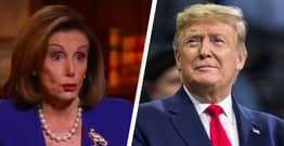 Pelosi Says Trump Was 'Unworthy To Be President' And A 'Stain' On America