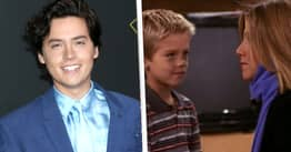 Cole Sprouse Says His Crush On Jennifer Aniston Made Him Forget Ben's Lines On Friends
