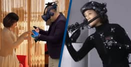 Man In Tears As He Reunites With Deceased Wife Through Virtual Reality