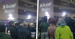 Doctor Left 'Disgusted' By Maskless Protesters Chanting 'COVID Is A Hoax' Outside Hospital
