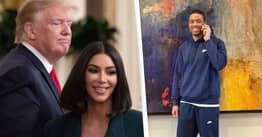 Kim Kardashian Ignores Donald Trump In Video Celebrating Release Of Chris Young