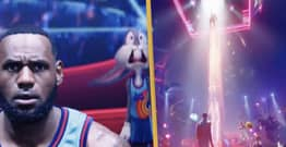 LeBron James Shares First Official Clip For Space Jam Sequel