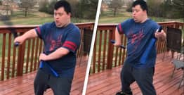 'Badass' TikToker Shows Off Incredible Nunchuck Skills